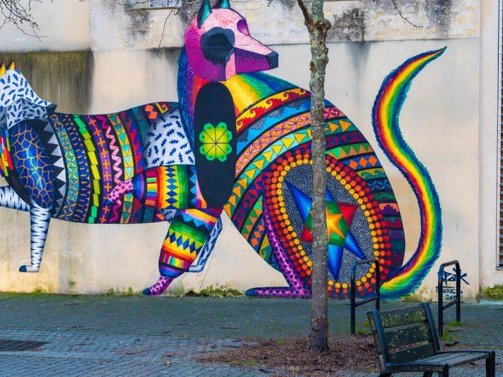 Agence communication streetart animaux