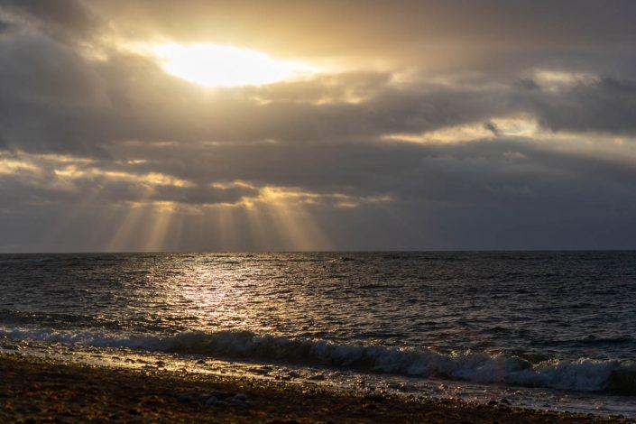 NATURE Mer Soleil Nuages